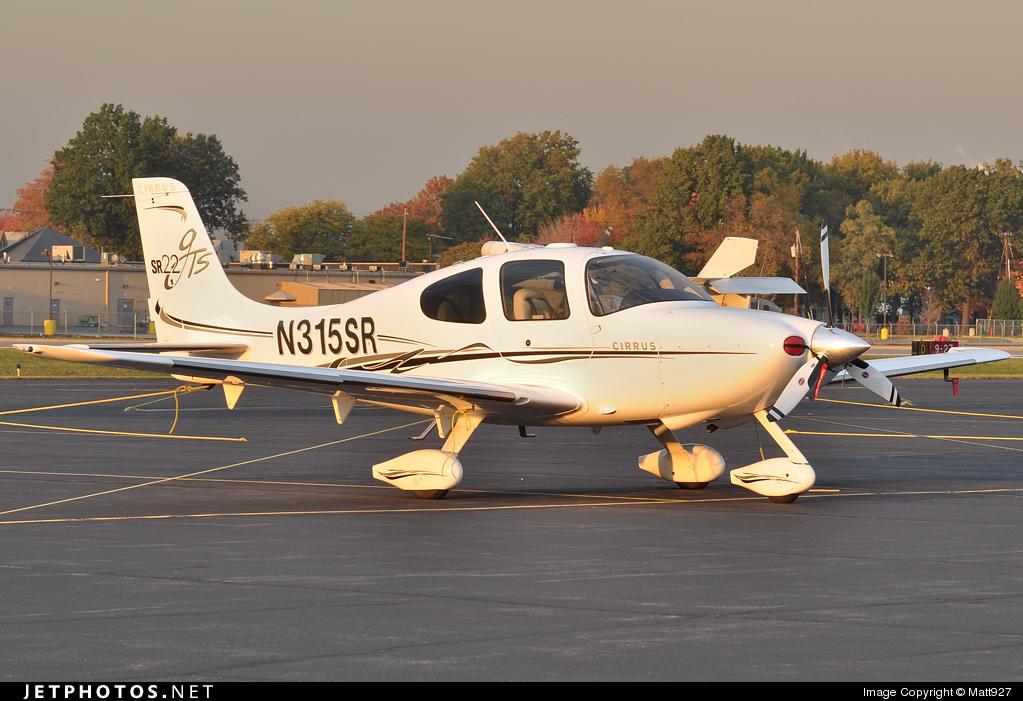 N315SR - Cirrus SR22-GTS - Private