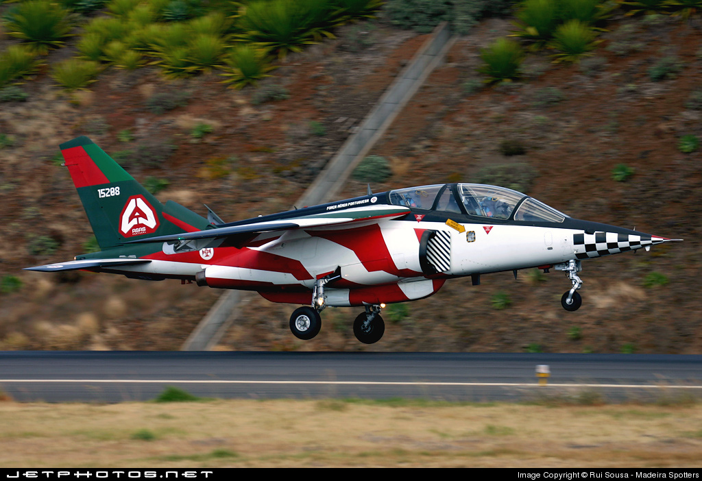 15208 - Dassault-Dornier Alpha Jet A - Portugal - Air Force