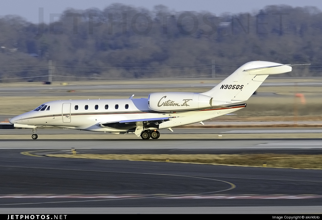 N905QS - Cessna 750 Citation X - NetJets Aviation