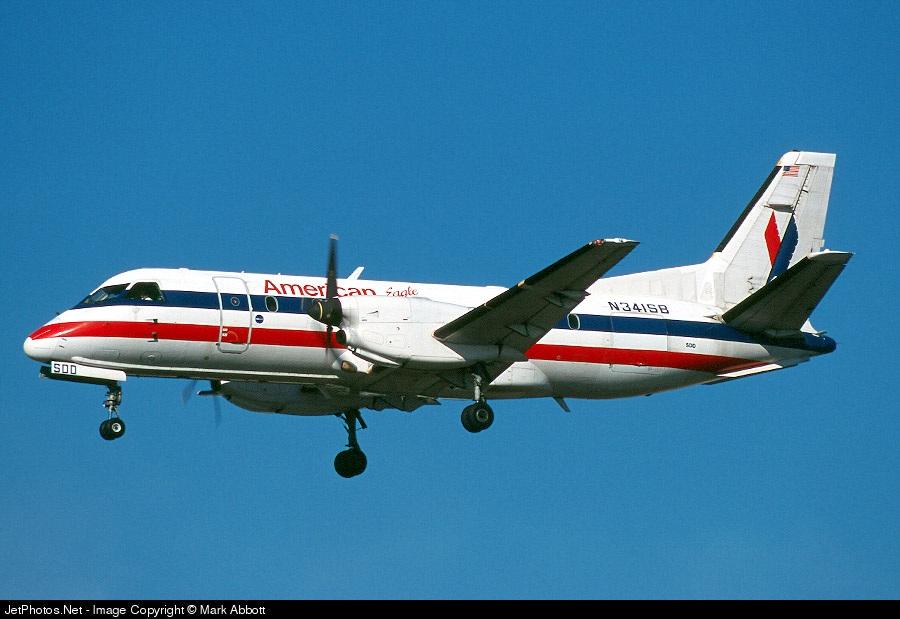 N341SB - Saab 340B - American Eagle