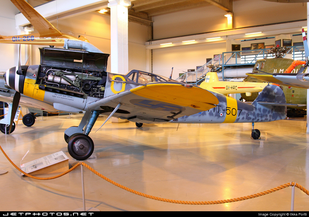 MT-507 - Messerschmitt Bf 109E-10 - Finland - Air Force