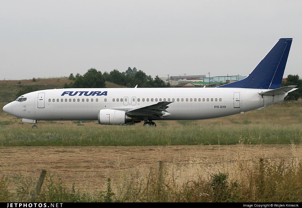 PR-BRI - Boeing 737-4Y0 - Futura (BRA Transportes Aéreos)