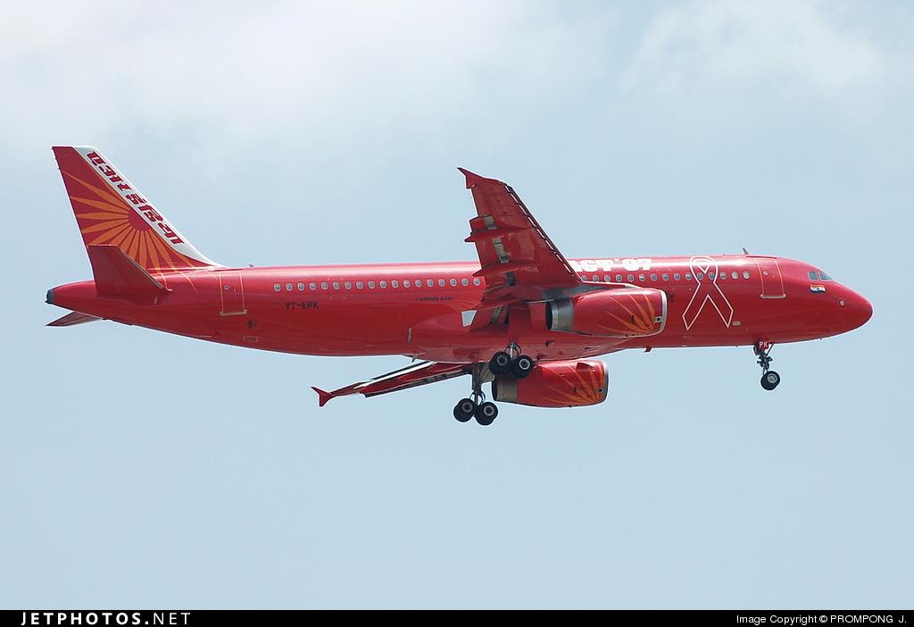 VT-EPK - Airbus A320-231 - Air India