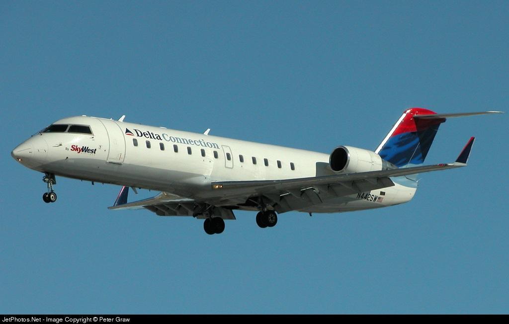 N442SW - Bombardier CRJ-200ER - Delta Connection (SkyWest Airlines)