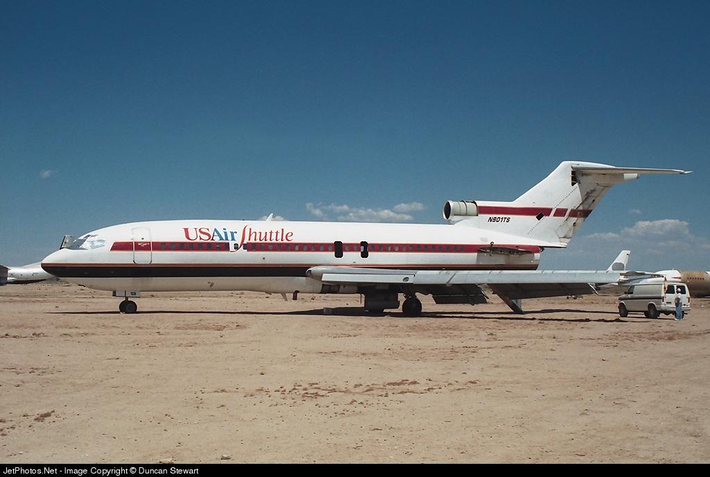 N901TS - Boeing 727-25 - USAir Shuttle