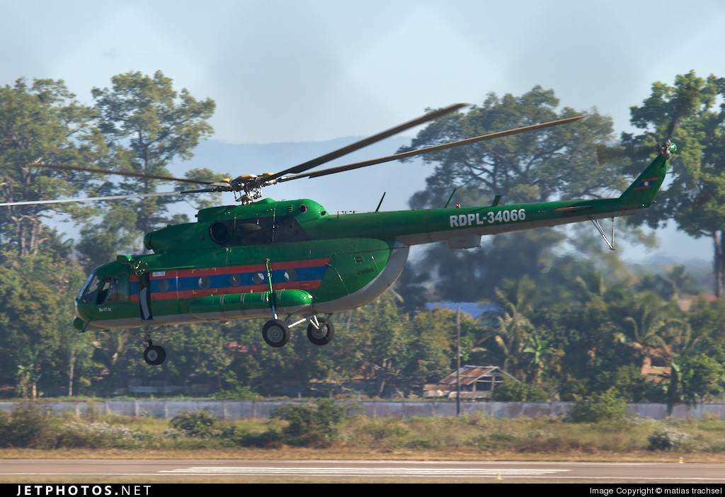 RDPL34066 - Mil Mi-17 Hip - Laos - Air Force