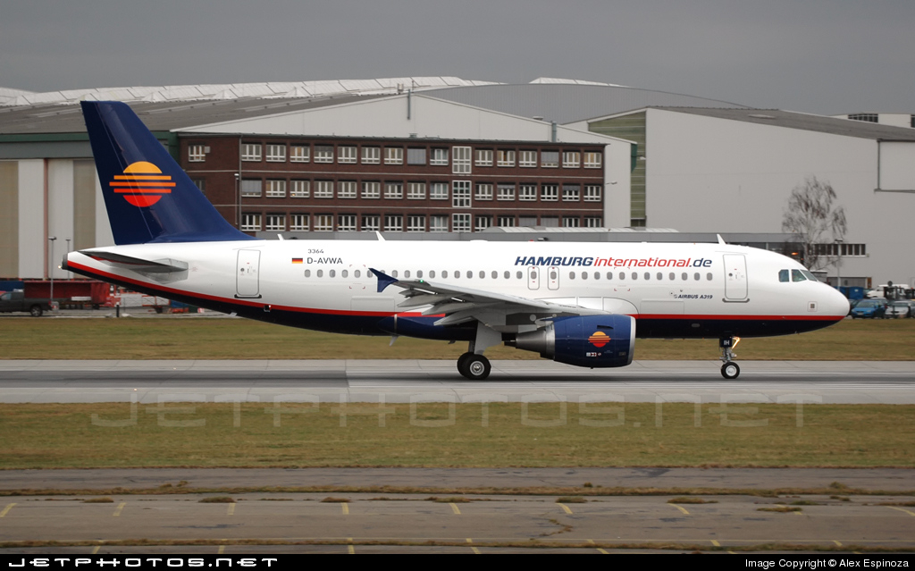 D-AVWA - Airbus A319-111 - Hamburg International