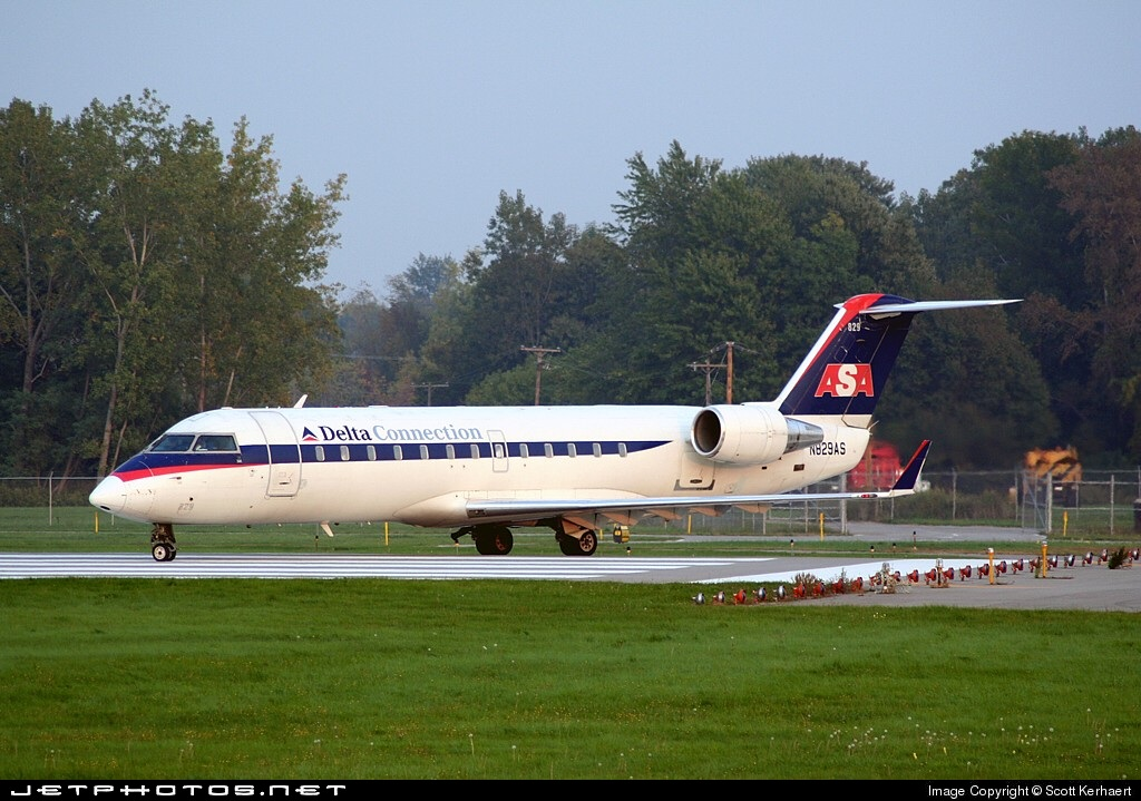 N829AS - Bombardier CRJ-200ER - Delta Connection (Atlantic Southeast Airlines)