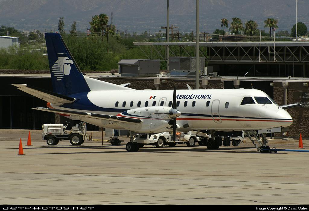 XA-ADY - Saab 340B - Aerolitoral
