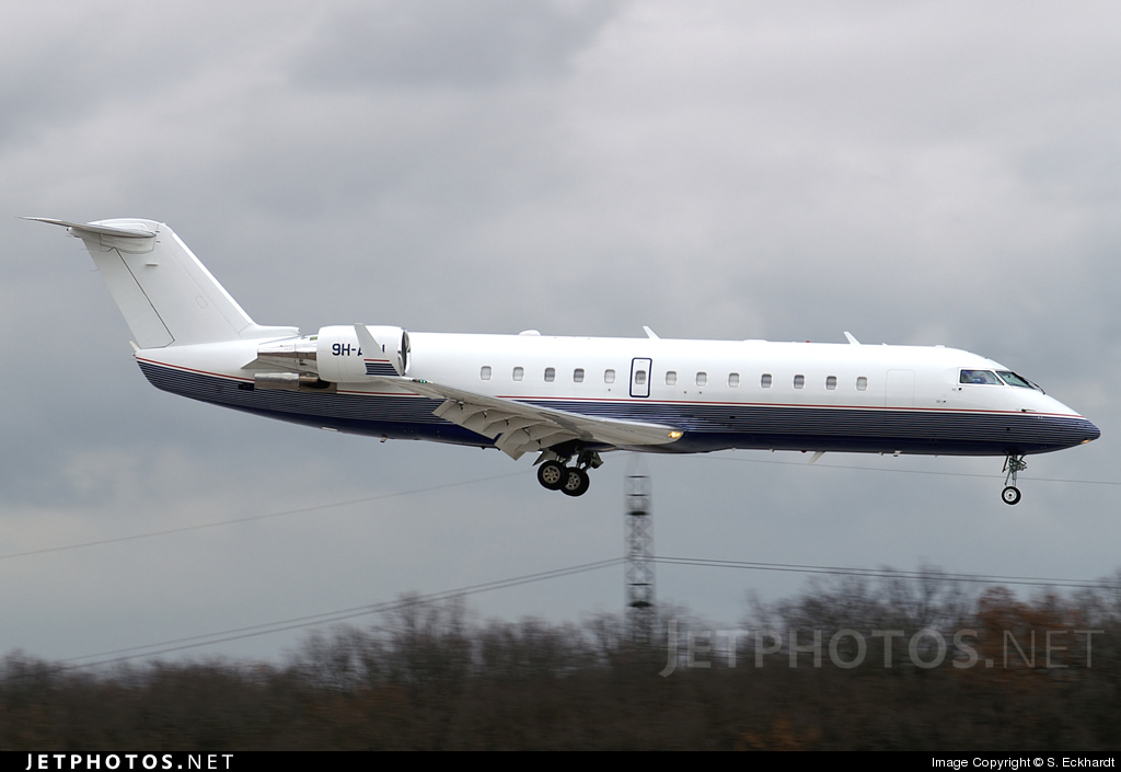 9H-AFU - Bombardier CRJ-100SE - Carree Aviation