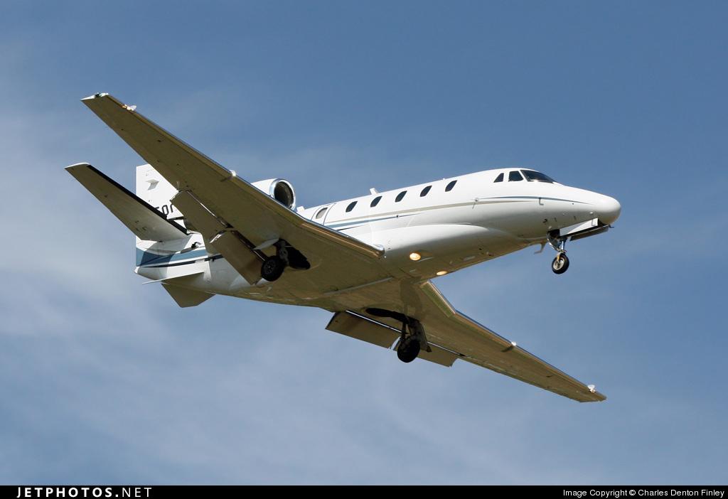 N550CS - Cessna 560XL Citation Excel - Private