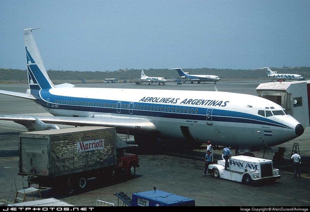 LV-ISC - Boeing 707-387B - Aerolíneas Argentinas