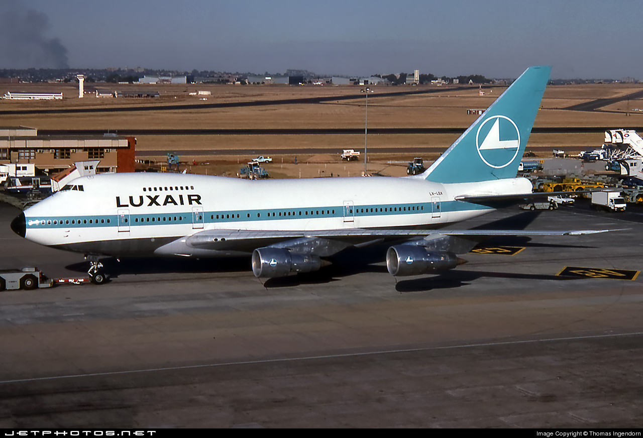 LX-LGX - Boeing 747SP-44 - Luxair - Luxembourg Airlines