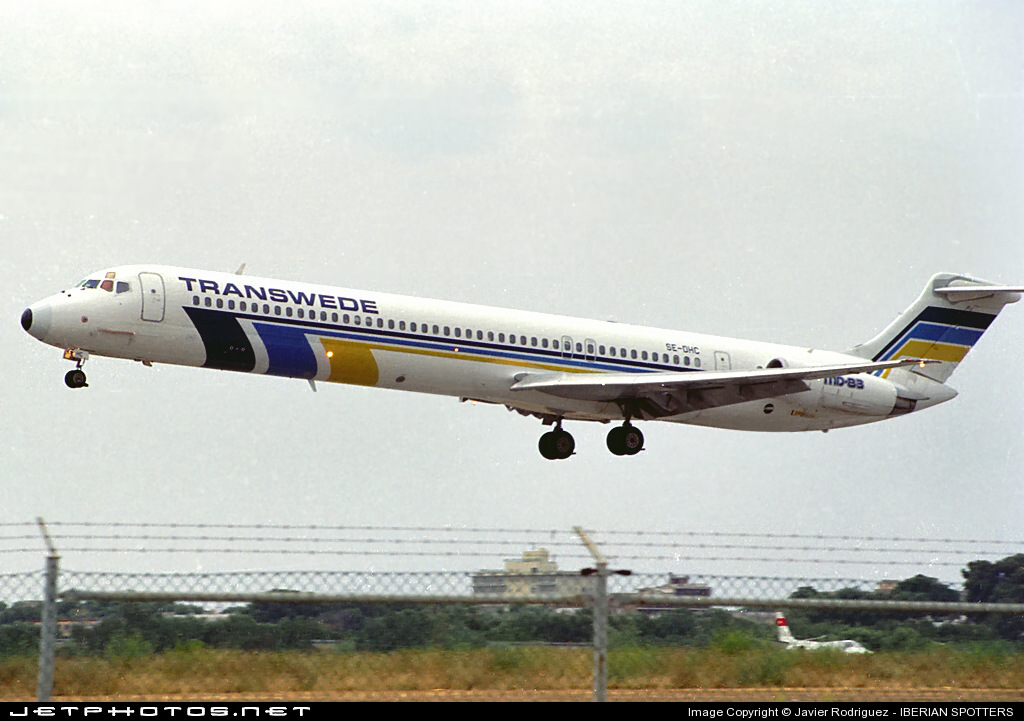 SE-DHC - McDonnell Douglas MD-83 - Transwede Airways