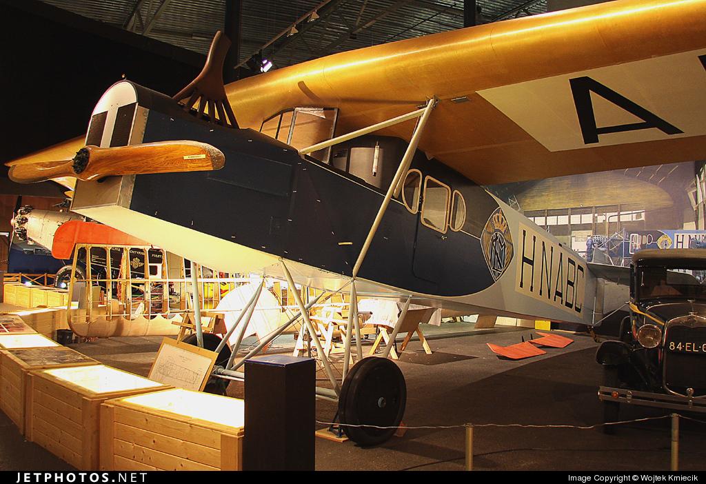 H-NABC - Fokker F.II - KLM Royal Dutch Airlines