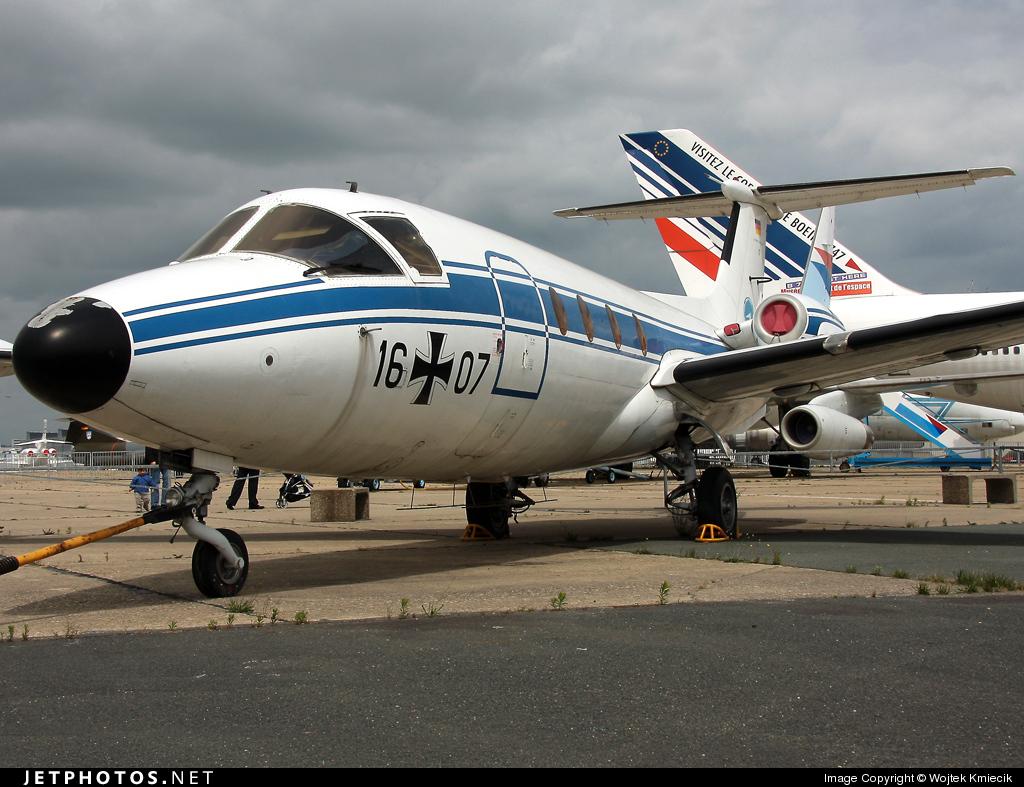 16-07 - MBB HFB-320 Hansa-Jet - Germany - Air Force