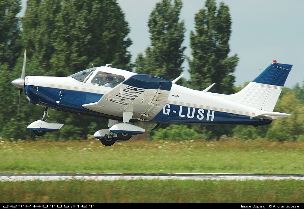 G-LUSH - Piper PA-28-151 Cherokee Warrior - Willow Air