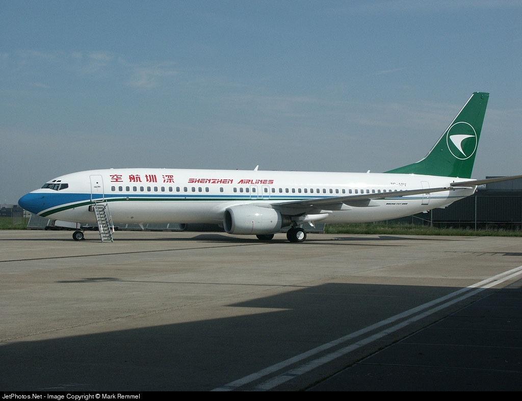 TC-APV - Boeing 737-86N - Shenzhen Airlines