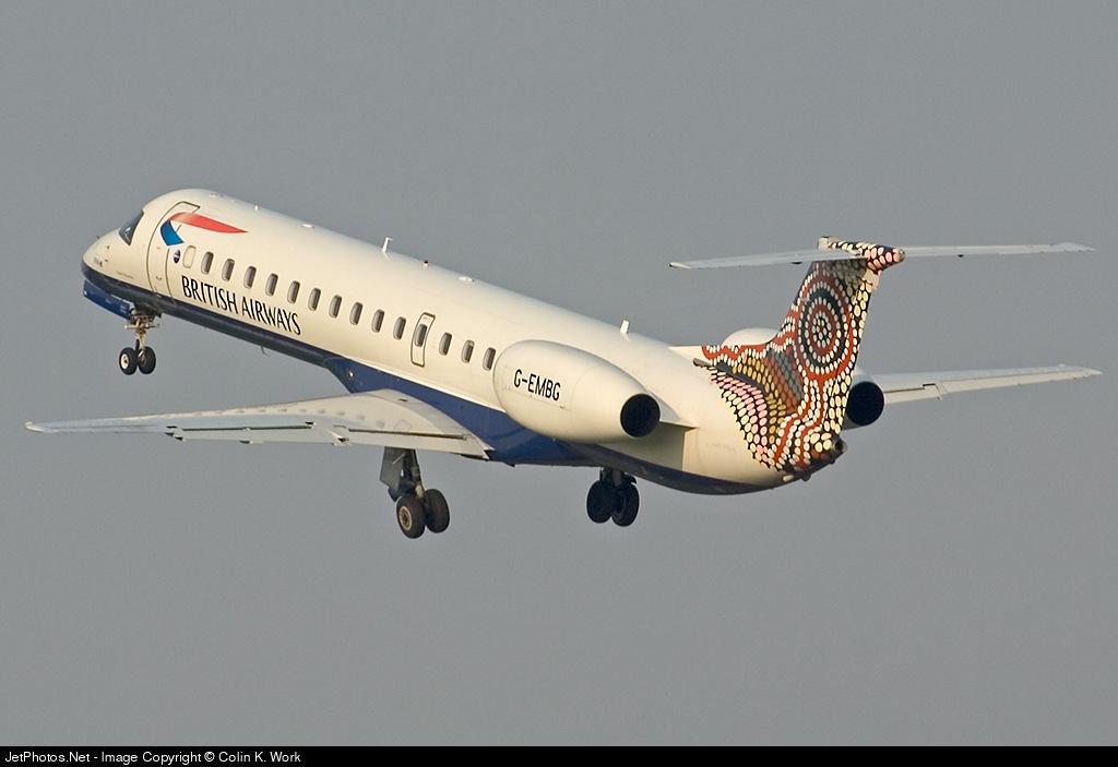 G-EMBG - Embraer ERJ-145EU - British Airways (CitiExpress)