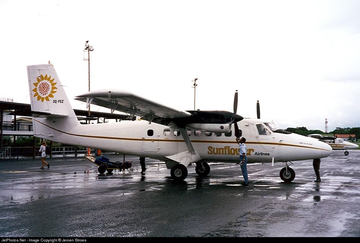 DQ-FEZ - De Havilland Canada DHC-6-300 Twin Otter - Sunflower Airlines