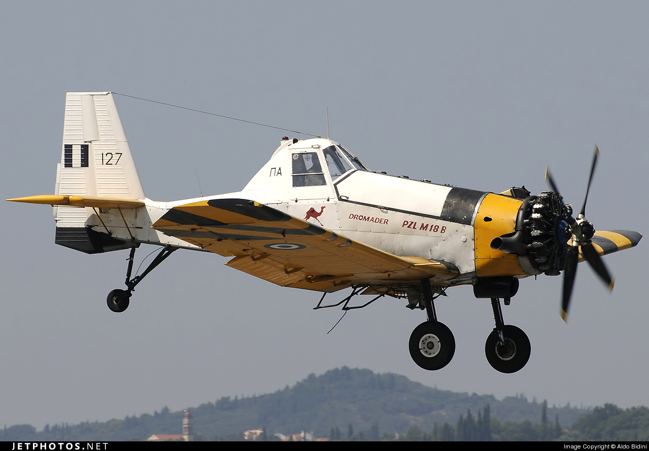 127 - PZL-Mielec M-18B Dromader - Greece - Air Force