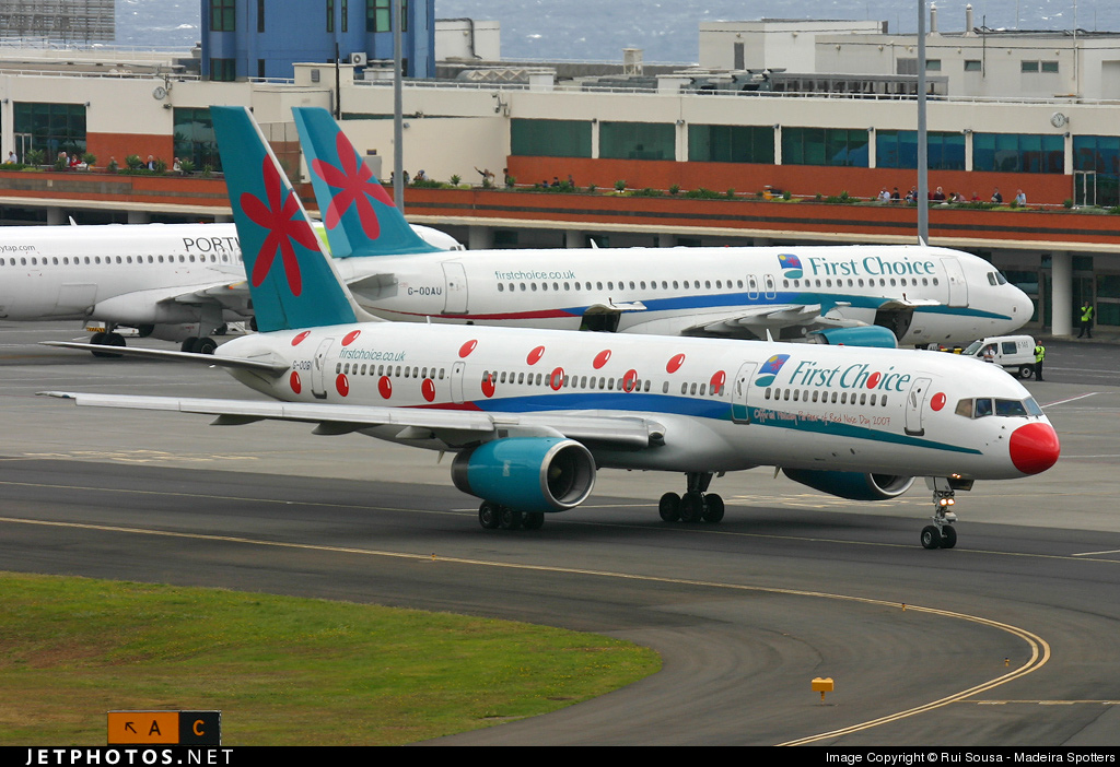 G-OOBI - Boeing 757-2B7 - First Choice Airways