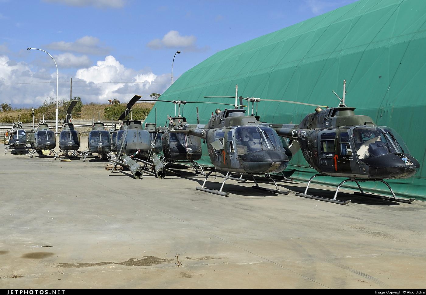 MM80613 - Agusta-Bell AB-206A JetRanger - Italy - Army