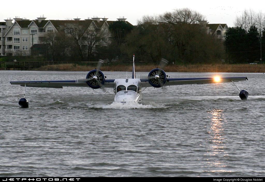 C-GDDJ - Grumman G-21A Goose - Pacific Coastal Airlines