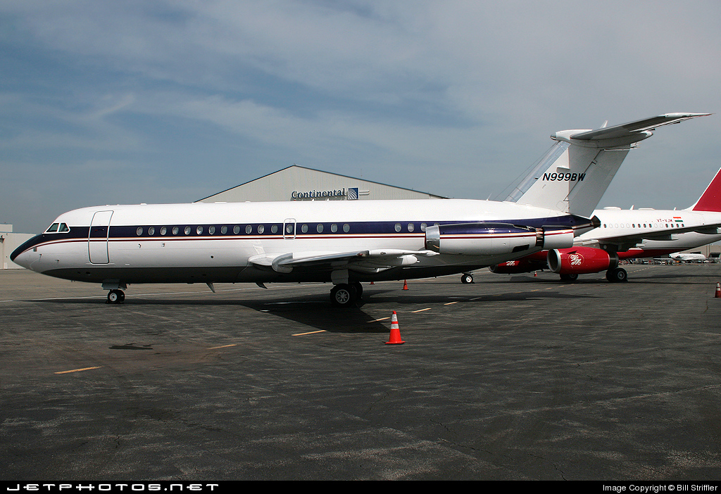 N999BW - British Aircraft Corporation BAC 1-11 Series 419EP - Jet Place