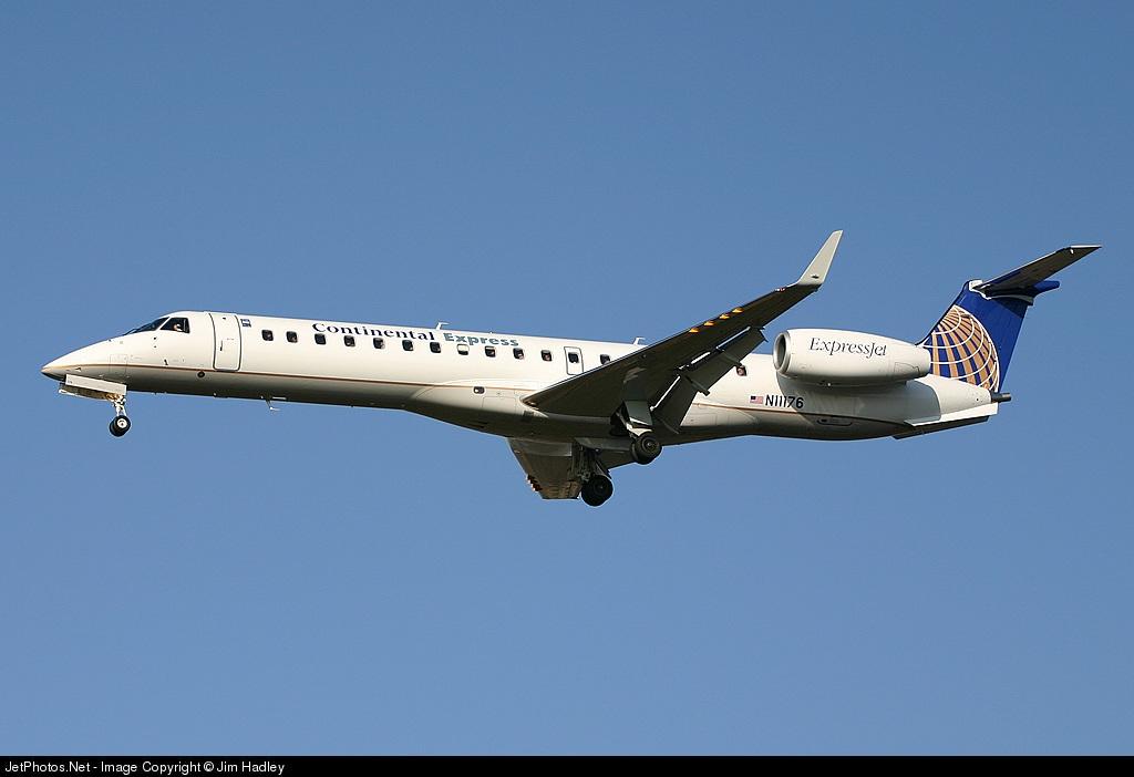 N11176 - Embraer ERJ-145XR - Continental Express (ExpressJet Airlines)
