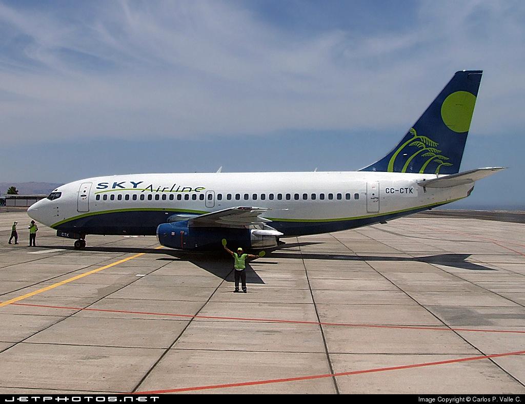 CC-CTK - Boeing 737-230(Adv) - Sky Airline