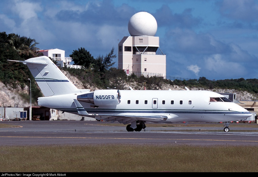 N850FB - Bombardier CL-600-2B16 Challenger 601-3A - Private