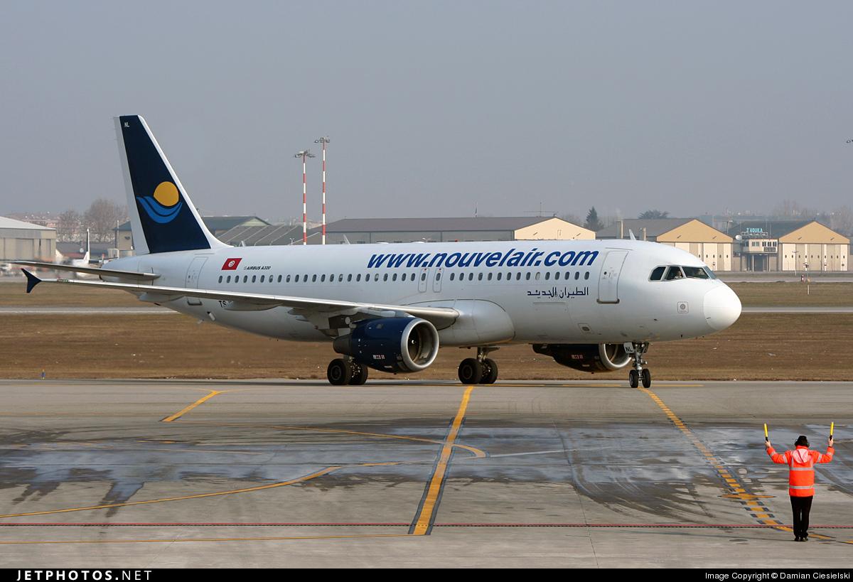 TS-INL - Airbus A320-212 - Nouvelair