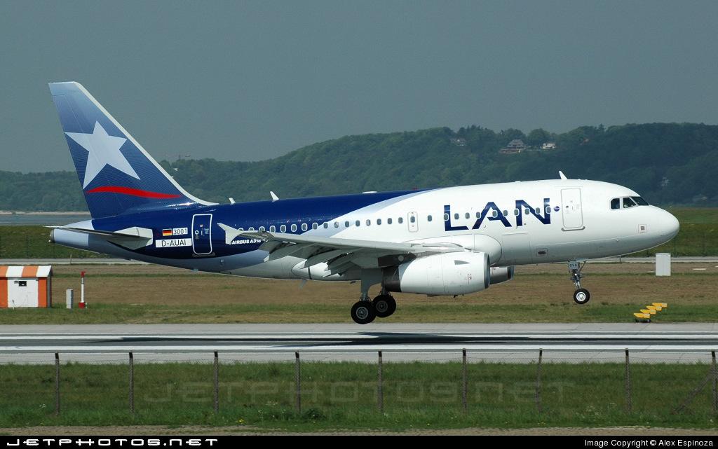CC-CVA - Airbus A318-121 - LAN Airlines