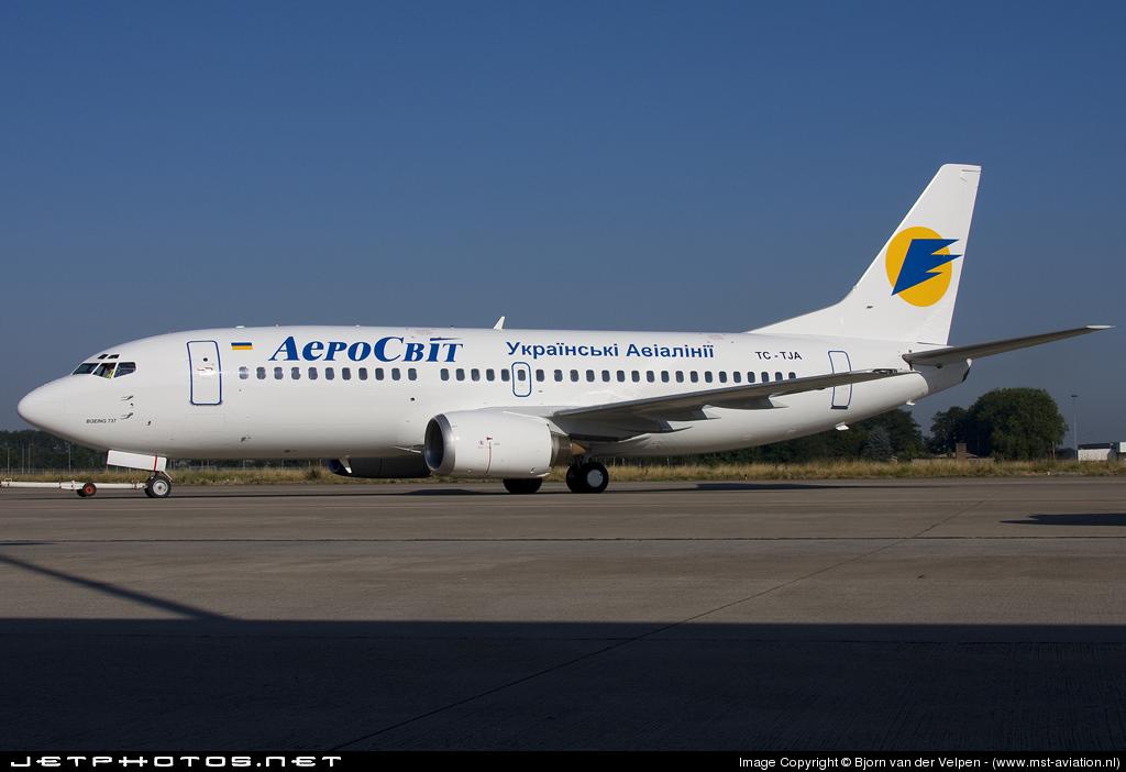 TC-TJA - Boeing 737-3Q8 - AeroSvit Ukrainian Airlines