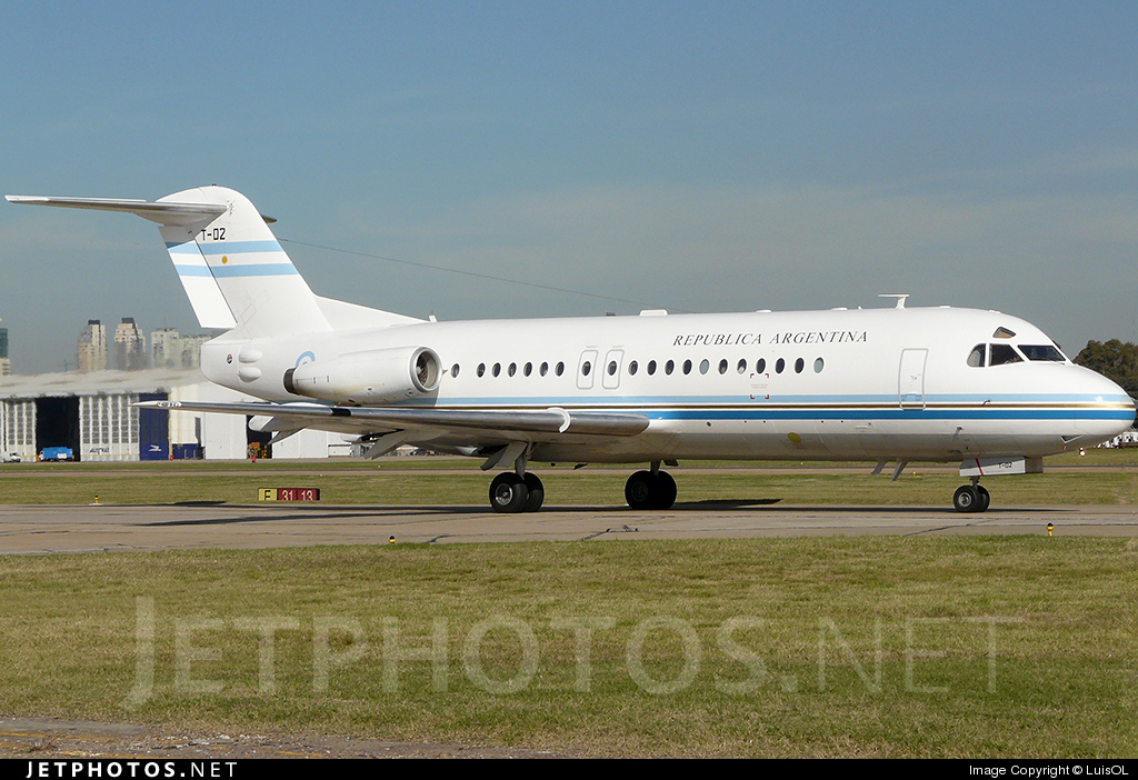T-02 - Fokker F28-4000 Fellowship - Argentina - Air Force