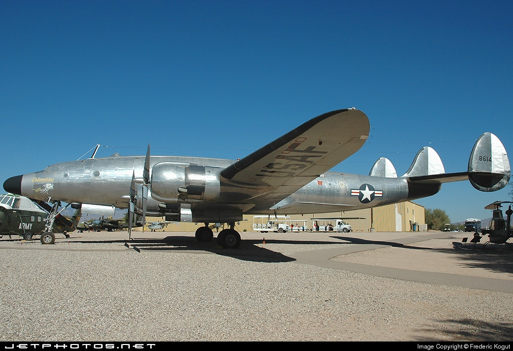 48-0614 - Lockheed VC-121A Constellation - United States - US Air Force (USAF)