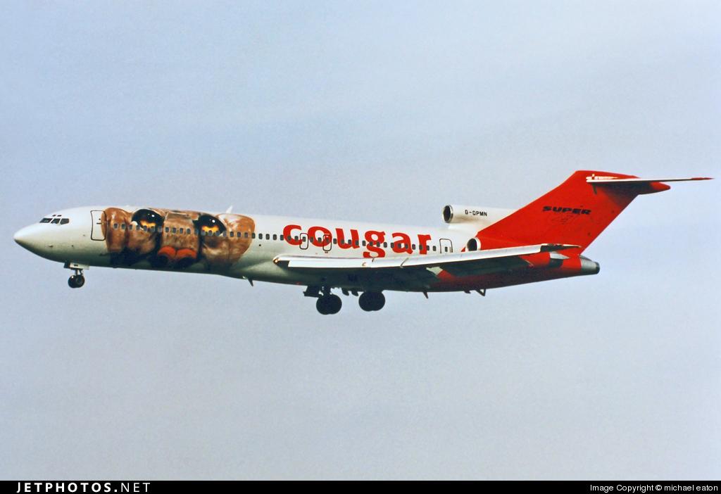 G-OPMN - Boeing 727-225(Adv) - Cougar Leasing