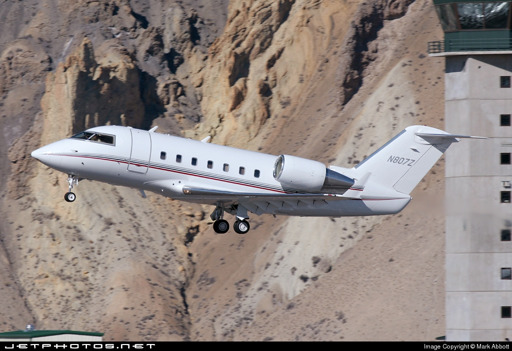 N807Z - Bombardier CL-601-2B16 Challenger 601-3A - Private