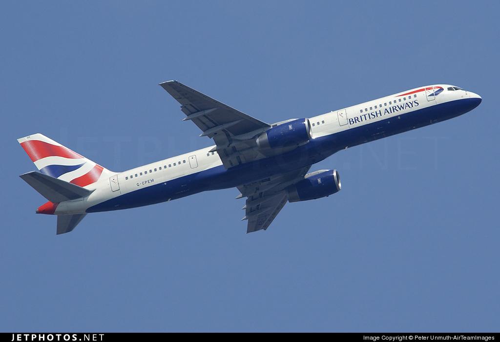 G-CPEM - Boeing 757-236 - British Airways