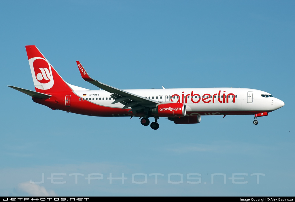 D-ABBE - Boeing 737-86J - Air Berlin