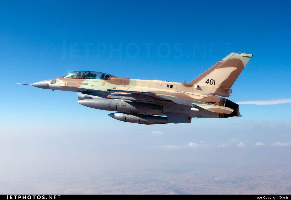 401 - Lockheed Martin F-16I Sufa - Israel - Air Force