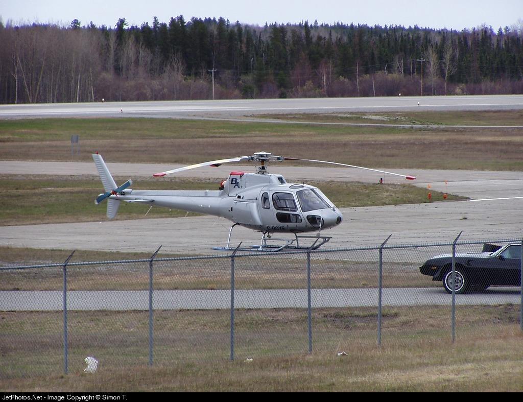 C-GYCE - Aérospatiale AS 350 Ecureuil - Helicoptère Transit