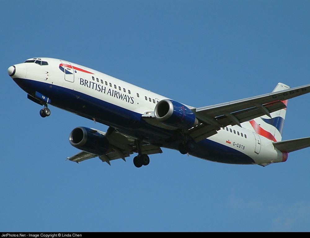 G-GBTB - Boeing 737-436 - British Airways