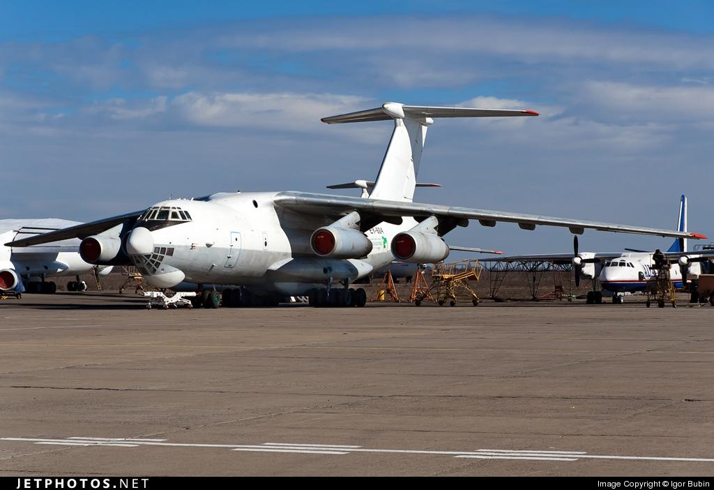 EY-604 - Ilyushin IL-76TD - Asia Airways