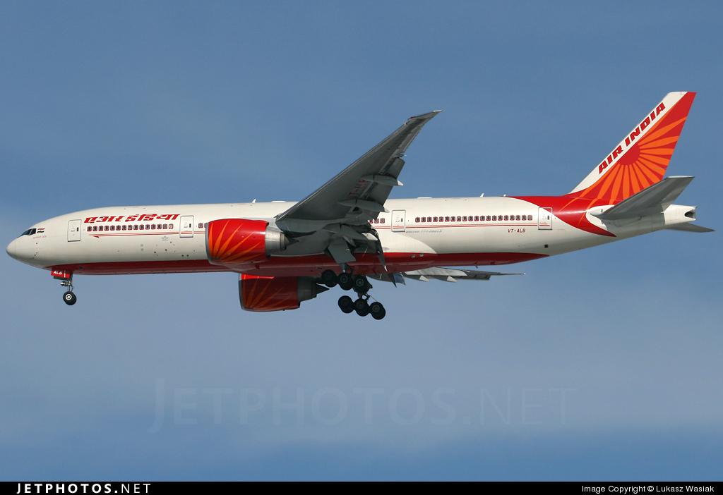 VT-ALB - Boeing 777-237LR - Air India