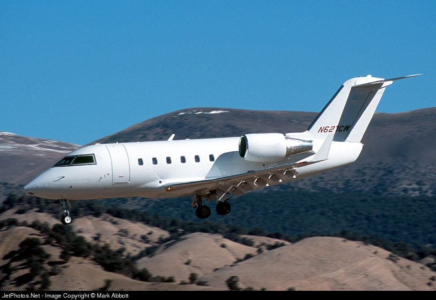 N627CW - Bombardier CL-600-2A12 Challenger 601 - Flight Options