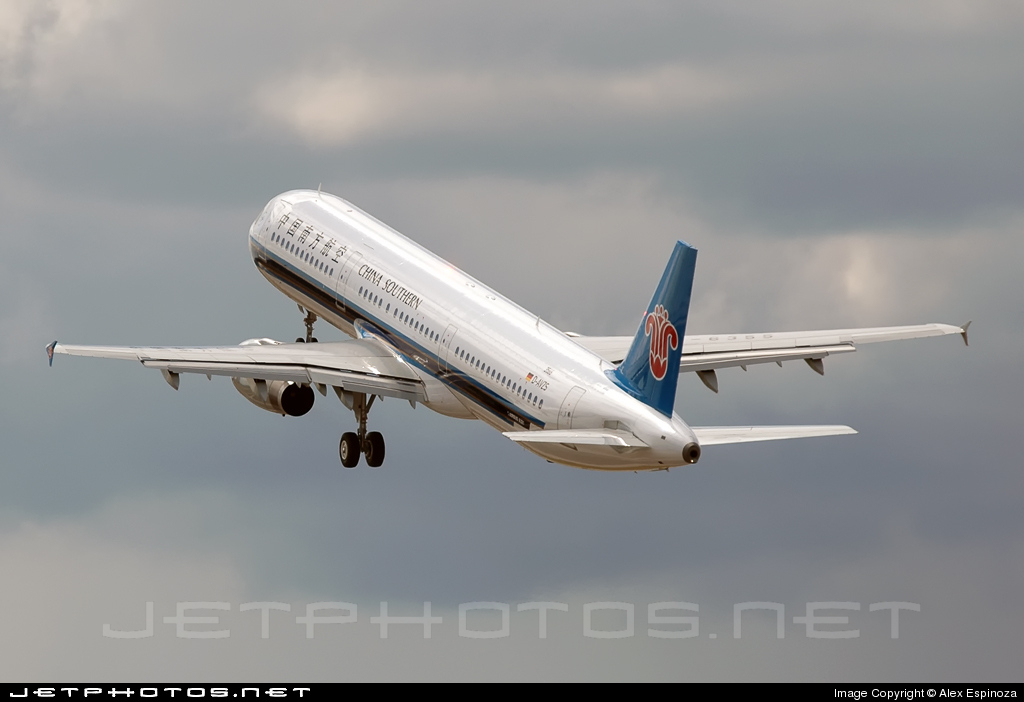 D-AVZS - Airbus A321-231 - China Southern Airlines