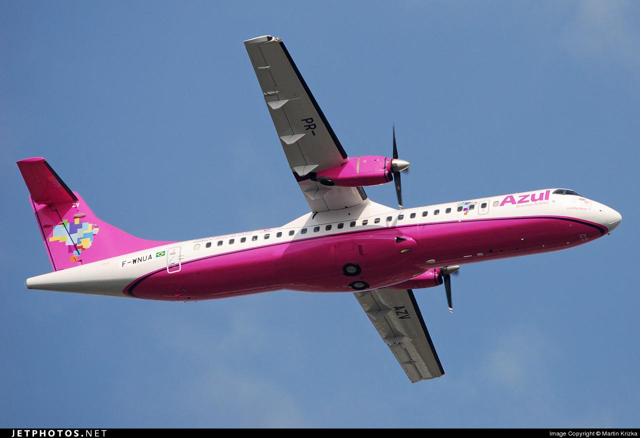 F-WNUA - ATR 72-202 - Azul Linhas Aéreas Brasileiras