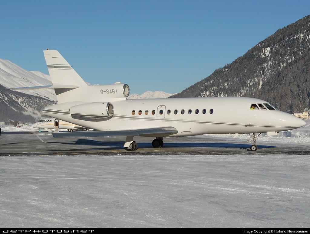 G-SABI - Dassault Falcon 900EX - London Executive Aviation
